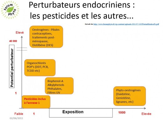 Graphique perturbateurs endocriniens